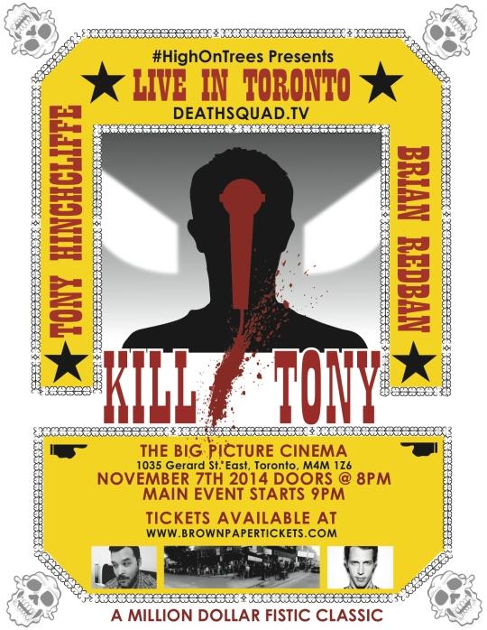 KillTonyPoster